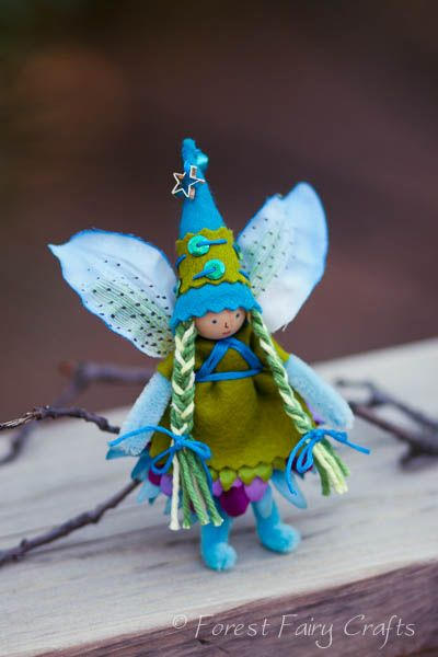 Forest Fairy Crafts - Journal - Alexandria's Fairy