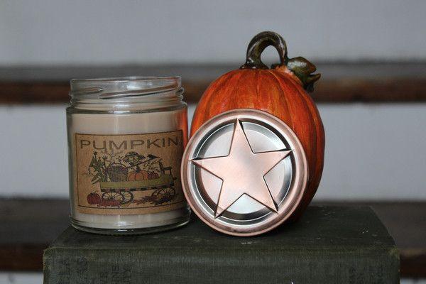 Pumpkin 8oz Soy Blend Candle