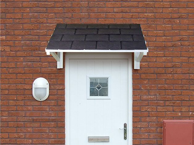 Details About New Front Door Canopy Roof Lean To Porch