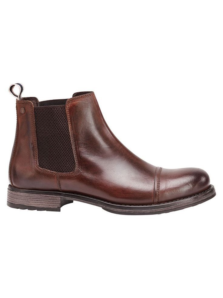 cozy fresh dirt cheap for whole family JACK & JONES Klassische Lederstiefel Herren Braun ...