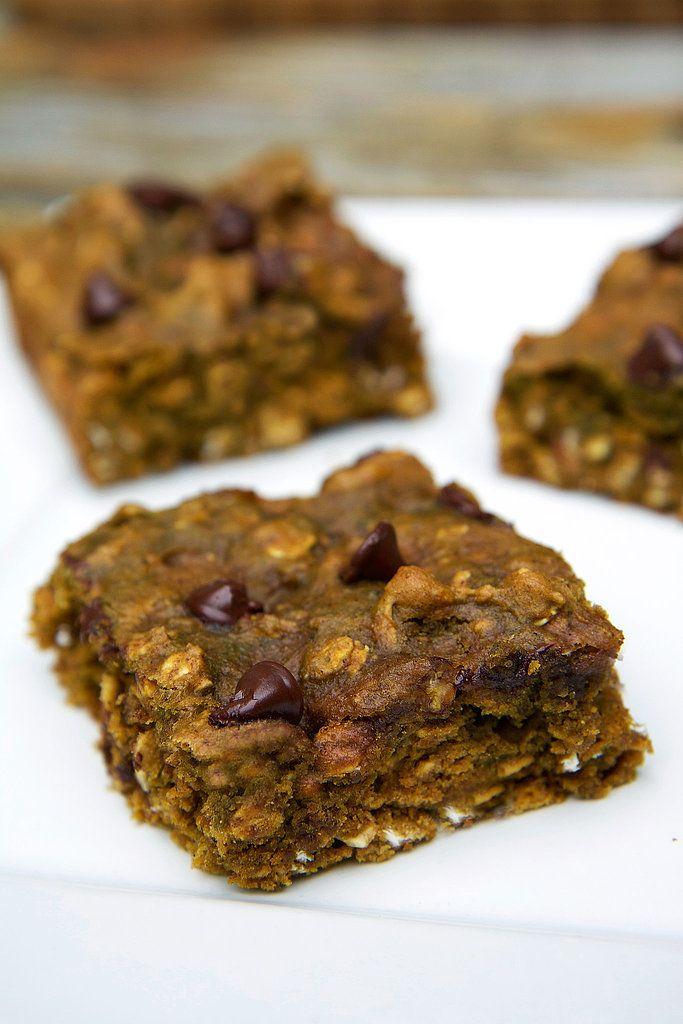 Pumpkin Chocolate Chip Protein Bars - popsugar.com