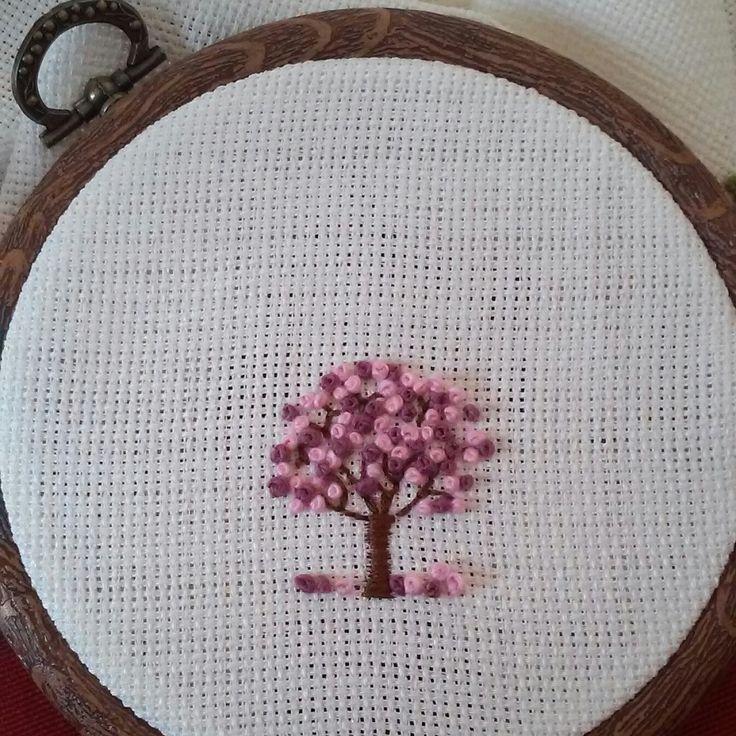 Embroidery tree nakış ağac