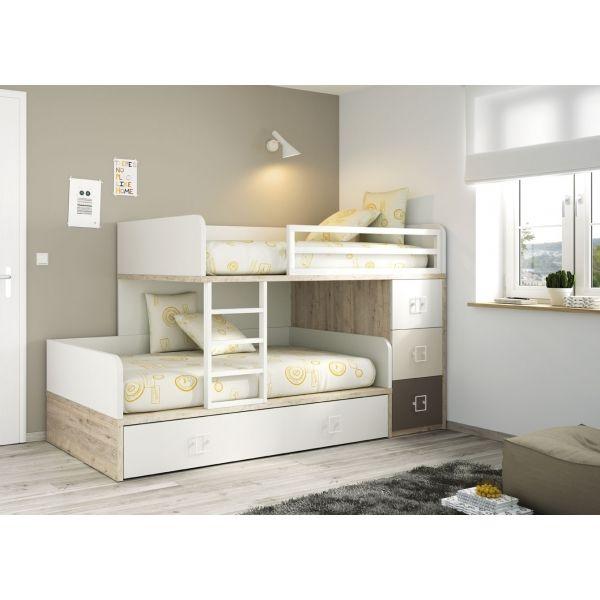 """Résultat de recherche d'images pour """"lit 1 place avec tiroir"""""""