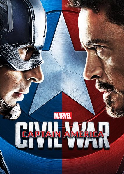 """Check out """"Captain America: Civil War"""" on Netflix 