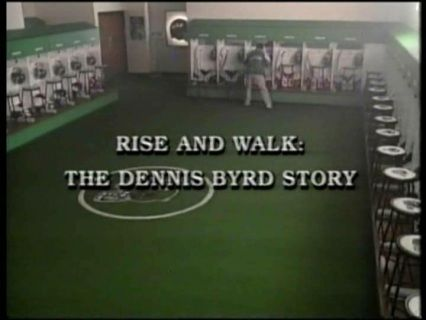 This inspiring made-for-television drama tells the true story of how Dennis Byrd -- professional football player for the New York Jets -- rebounded from a terrible game injury that left him paralyzed. Director: Michael Dinner Writers: Dennis Byrd (book), Michael D'Orso (book), 1 more credit » Stars: Peter Berg, Kathryn Morris, Wolfgang Bodison