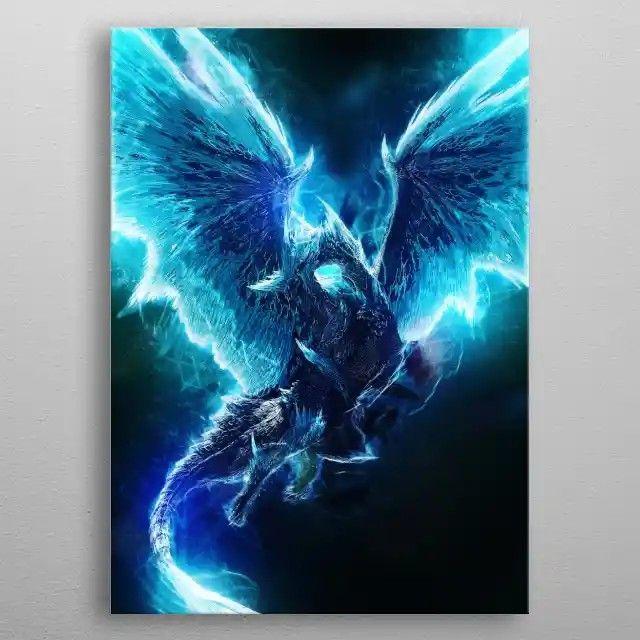 poster prints monster hunter art