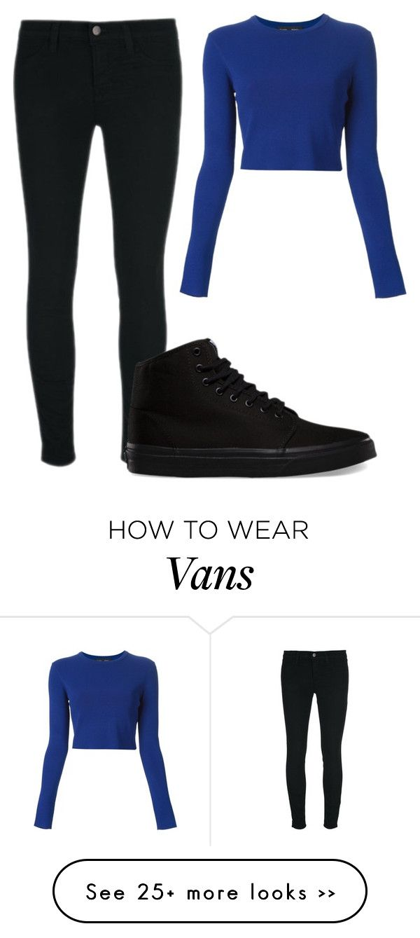 """Untitled #7905"" by xxxlovexx on Polyvore featuring mode, Proenza Schouler, J Brand et Vans"