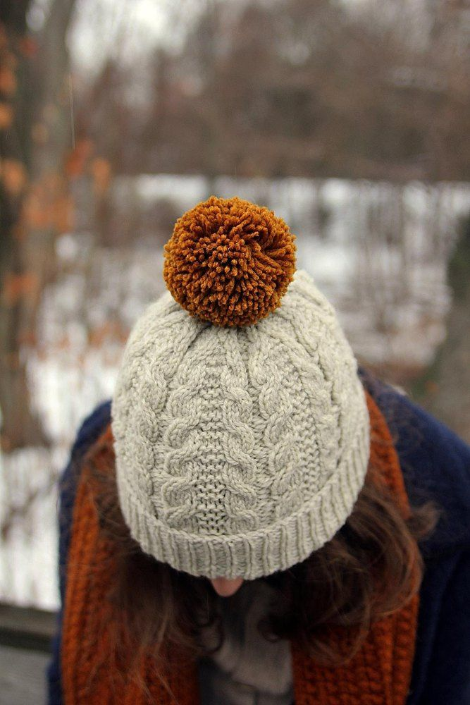 Oban features simple cables and texture to create a classic hat that's just a little different. The texture in a lovely round wool makes it squishy and cozy, especially with a pom! Instructions are included for modifying both depth or width - and it's a super fast knit, you may end up with more than one.... Find this pattern at LoveKnitting.Com.