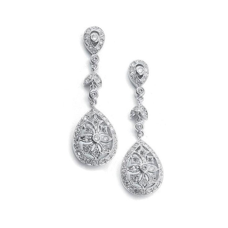 Best 25 Vintage bridal earrings ideas on Pinterest Vintage