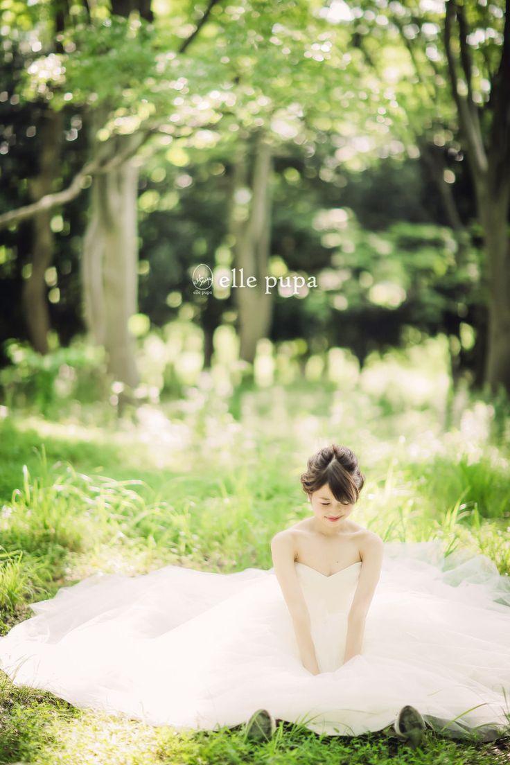 森での横浜ロケーション前撮り   *elle pupa blog*