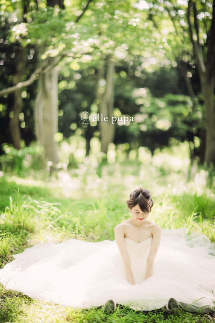 森での横浜ロケーション前撮り | *elle pupa blog*