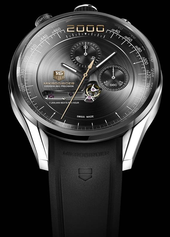 The Watch Quote: The TAG Heuer Mikrogirder watch - Reinventing the mechanical regulator with a 5/10,000th of a second chronograph