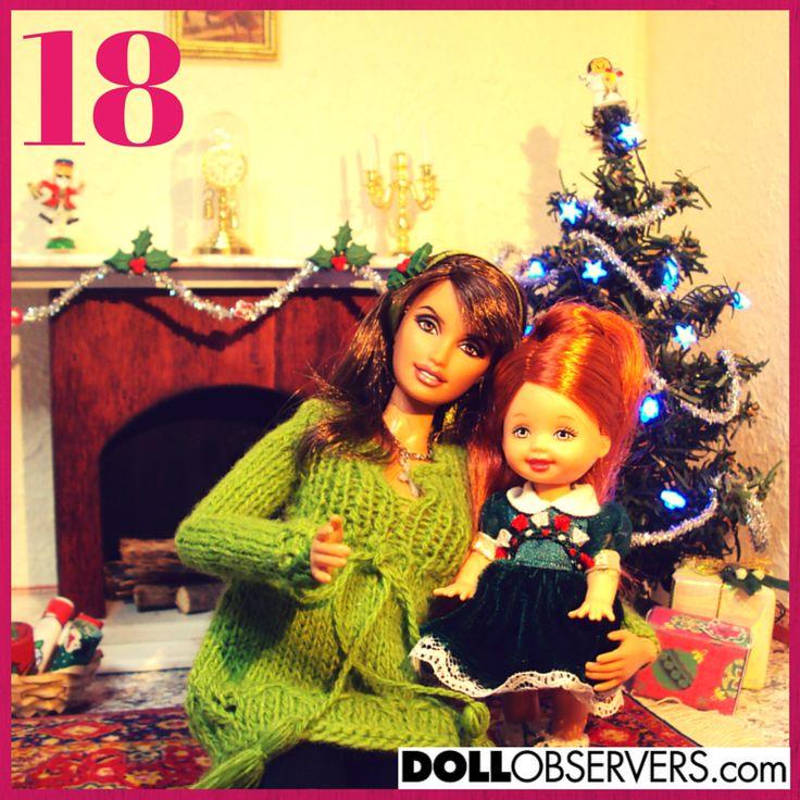 Advent Calendar Day 18. Photo courtesy of DollObservers Member, Sara. http://dollobservers.com/forum/advent-calendar-2014
