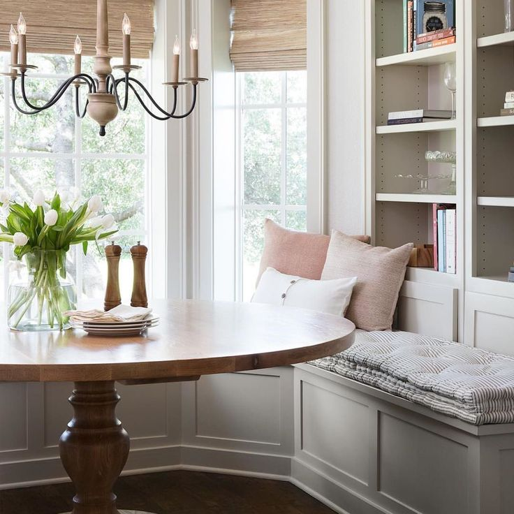 Fixer Upper Season 5 Episode 2 Molding: Dining Room Design, Nook