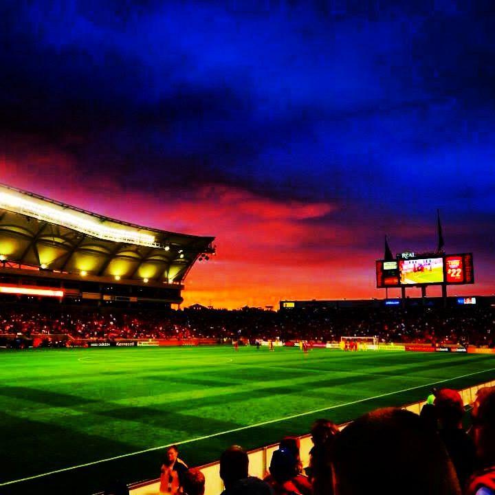 Real Salt Lake at Rio Tinto Stadium, SLC Utah. Spent my 18th birthday at my first MLS game!