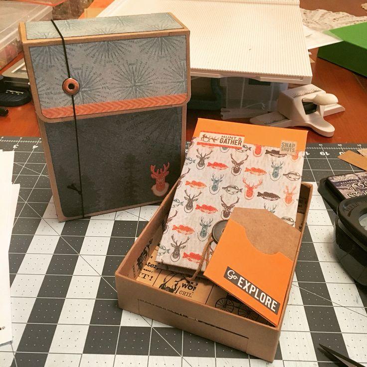 Matchbox Gift card holder #paperphenomen #paperphenomenEKC18contest #Kaisercraft Kaisercraft outdoor trail