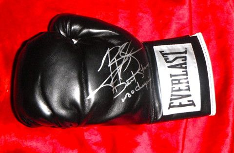 Timothy Bradley Autographed Everlast Boxing Glove