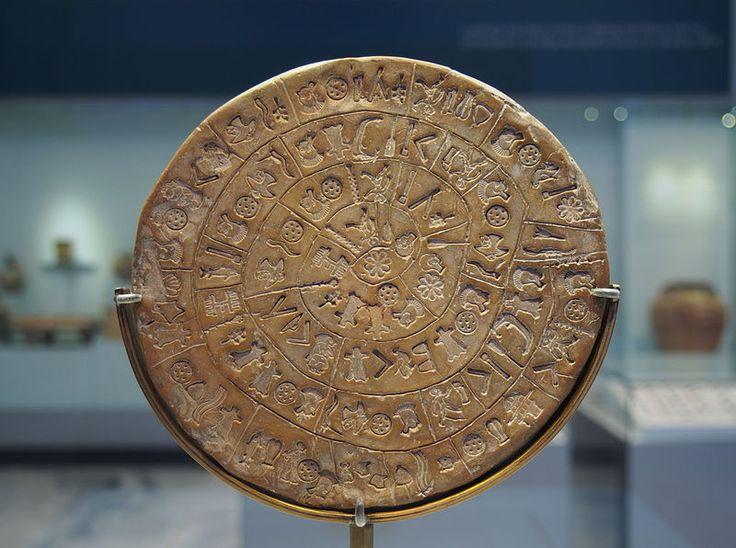 Δίσκος της Φαιστού πλευρά Α 6380 - Disco de Festo – Wikipédia, a enciclopédia…