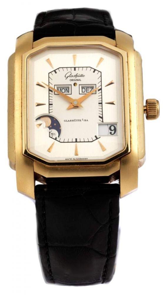 GLASHÜTTE ORIGINAL ewiger Kalender Durchmesser: 34 x 44 mm. Ewiger Kalender von GLASHÜTTE ORIGINAL — Armbanduhren