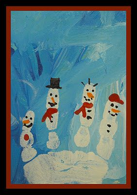 Art With Aubrey: Preschool - Christmas workshop