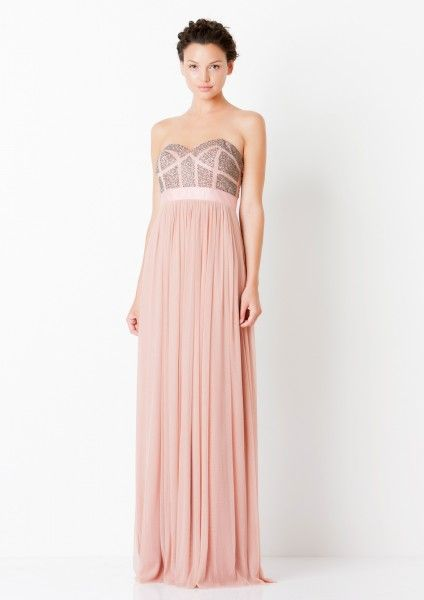 #Pastel #perfection! This gown is one of our favourites, what do you think? For more information -   http://on.fb.me/1bYpbsO or email us at info@vividwear.com.au