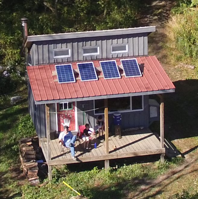 Our off-grid cabin in the hills of West Virginia. Try it out for a weekend!