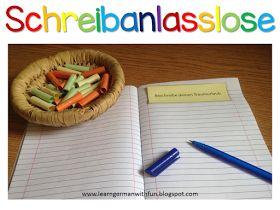 Schreibanlässe für die Grundschule