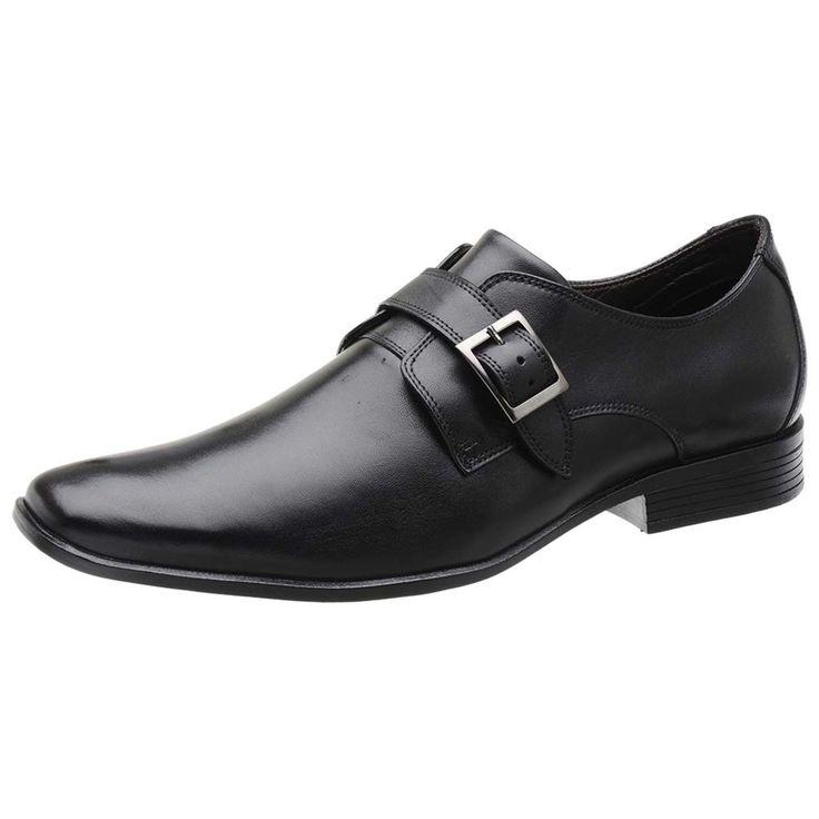 Sapato Social em Couro Fandarello Preto | Sapatos sociais