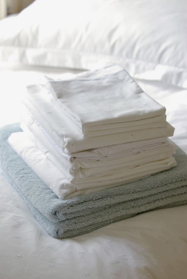 Creature Comforts for Company: Clean Linens
