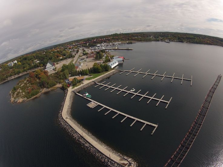 Big Sound Marina, Parry Sound's transient marina on the Harbour on October 1, 2012.
