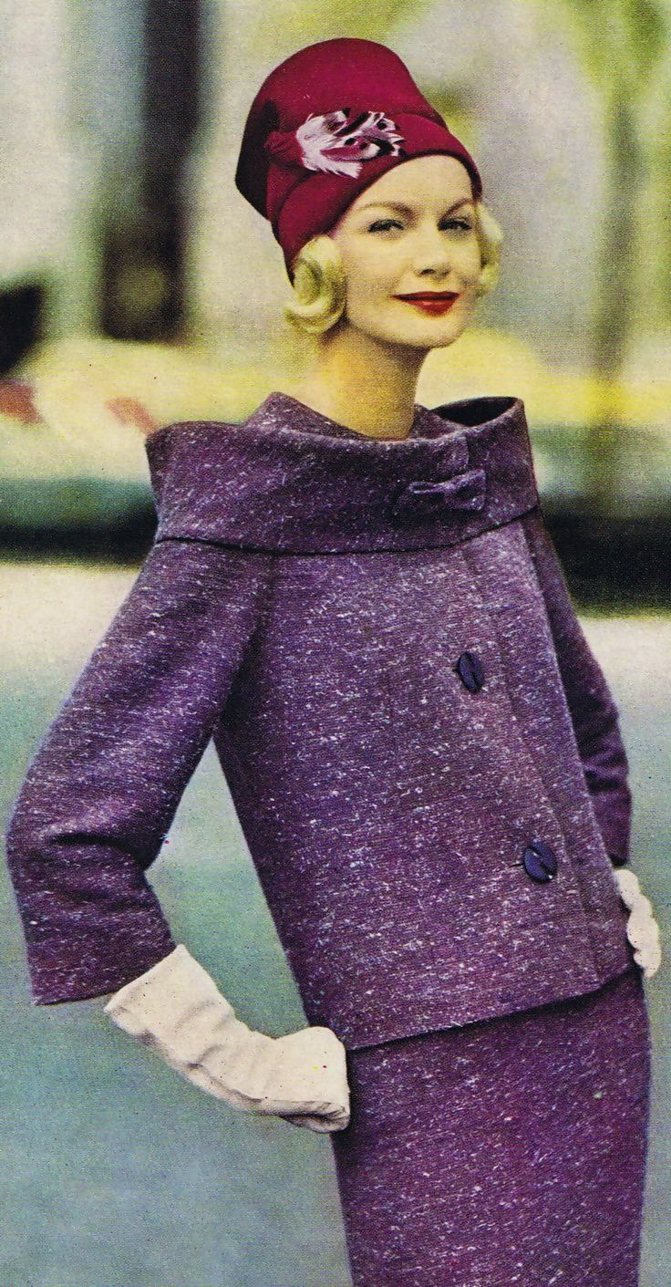 Image result for purple suits from the 1950s