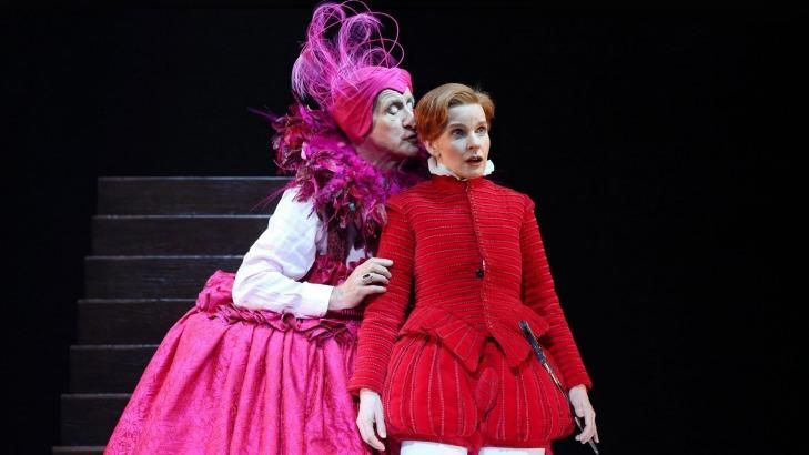 John Gaden as Elizabeth I and Jacqueline McKenzie as the titular Orlando.