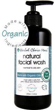 Herbal Choice Mari Facial Wash mw Organic Normal  Oily Skin 200ml 68oz Pump -- See this great product.