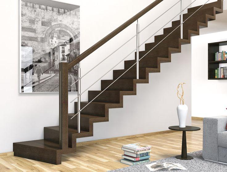 Las 25 mejores ideas sobre barandas para escaleras en - Escaleras de diseno para interiores ...