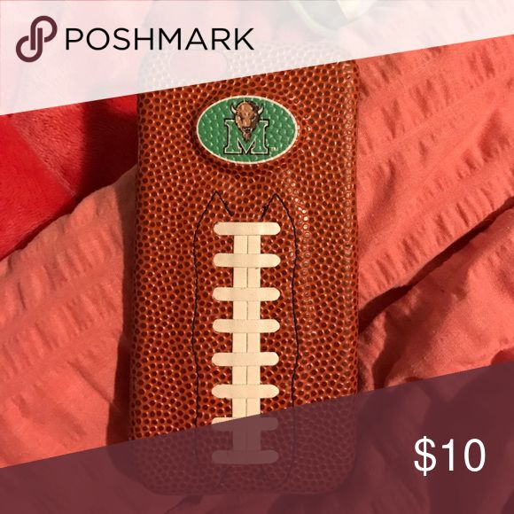 Marshall Football Iphone 6 Case barely used, great football season case! Accessories Phone Cases