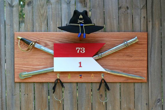 Cavalry Stetson Saber And Spur Display For The Home