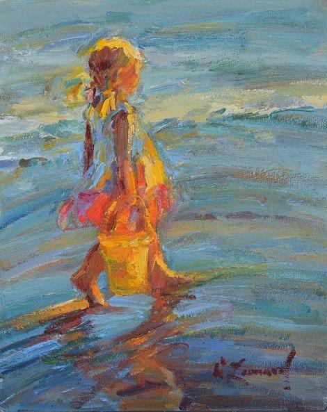 Diane Leonard Summertime On Artstack Diane Leonard Art
