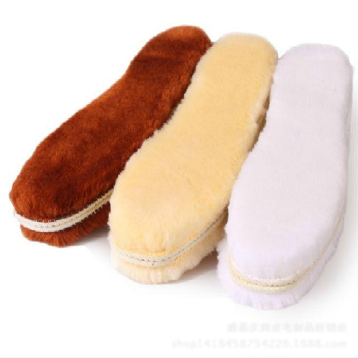 2016 Tamaño 35-45 de lana Sintética plantillas Mujeres de Los Hombres Cómodos Suaves Calientes del invierno muy cálido plantilla plantillas para los zapatos envío Gratis