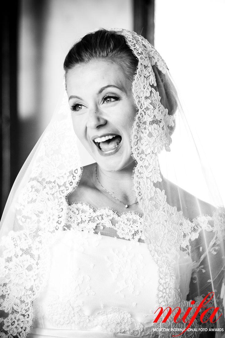 Alice Franchi : Portrait of bride