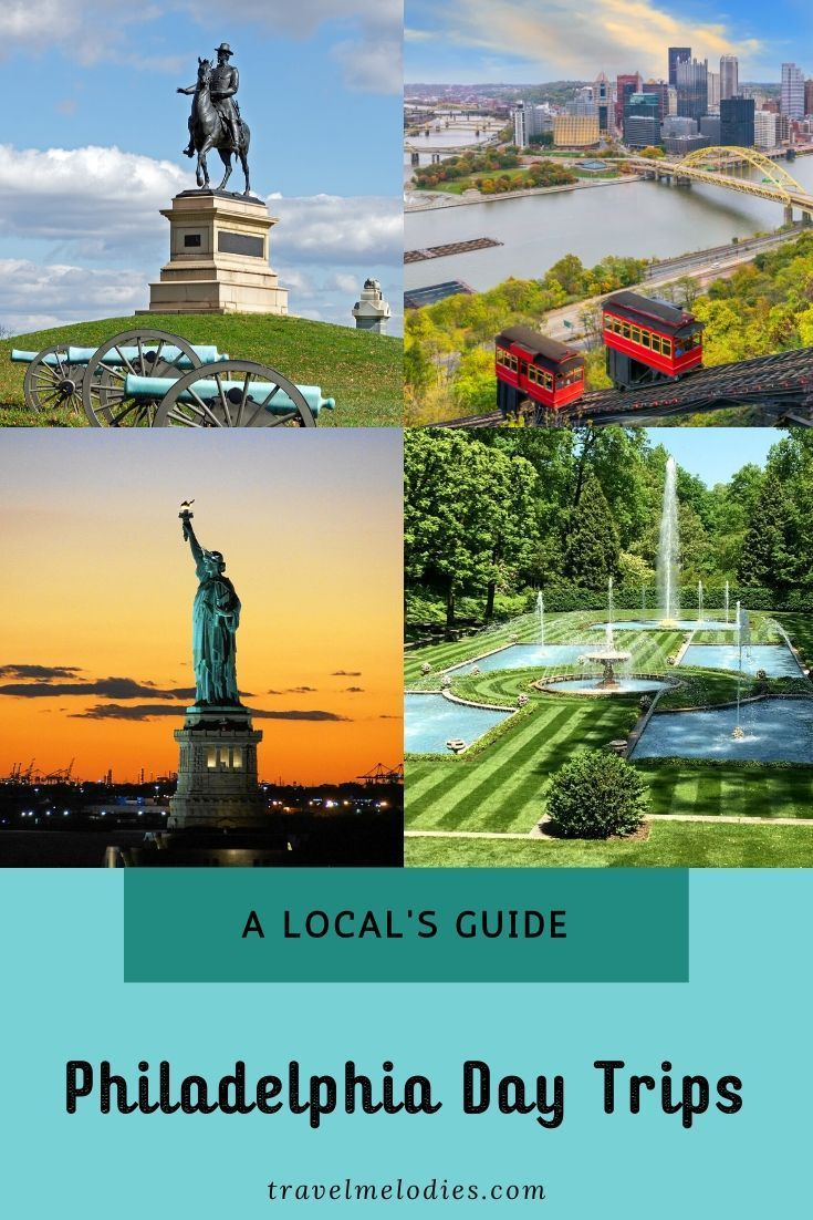 Complete Guide By A Local To Best Day Trips From Philadelphia To Neighboring States Of New Jersey Maryland Delaware And Of Course I In 2020 Day Trips Travel Usa Trip