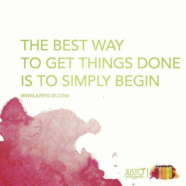 Begin!  Berani baik berani sehat!  #Jusyo - Untuk Kebaikan  #jusyo_id #coldpressedjuice #raw #pure #healthyliving #running #trialrun #marathon #halfmarathon #yoga #motivation #jakarta #jakartaolshop #indonesia #indonesiaolshop