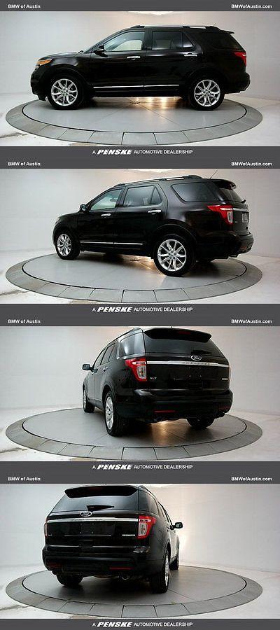 SUVs: 2013 Ford Explorer Fwd 4Dr Xlt Fwd 4Dr Xlt Suv Gasoline 3.5L V6 Cyl -> BUY IT NOW ONLY: $19988.0 on eBay!