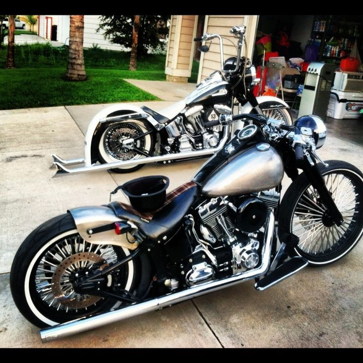 Lets see those Softail Bobbers - Page 3 - Harley Davidson Forums