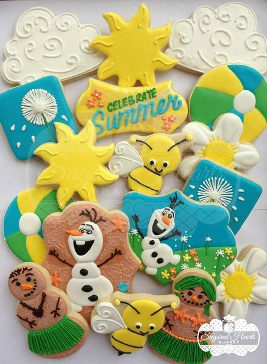 Olaf's Summer Cookies