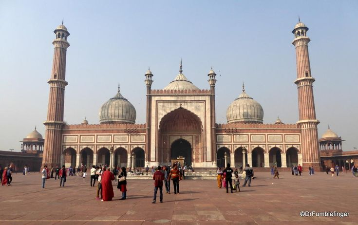 Jama Masjid, Delhi (Where Gumbo was #256)