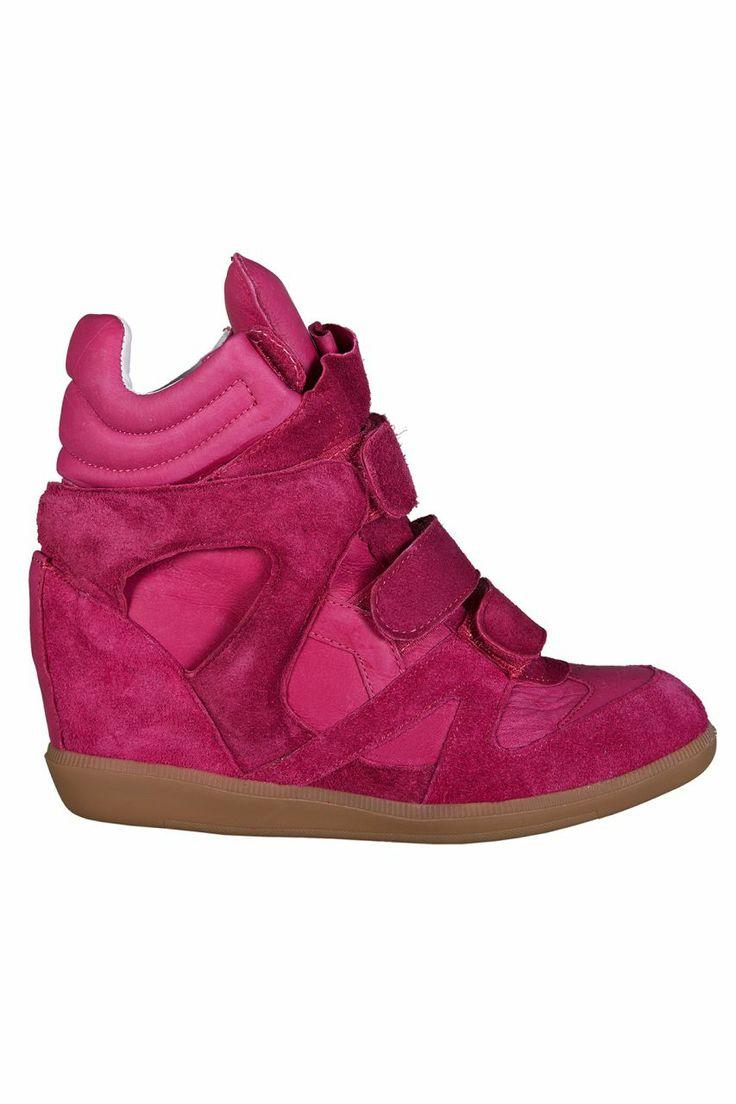 Dolgu Topuklu Spor Ayakkabı - Fuşya | Trendy Topuk | Trendy Topuk | Ayakkabı | 150 TL ve üzeri alışverişlerinizde Kargo ücretsiz