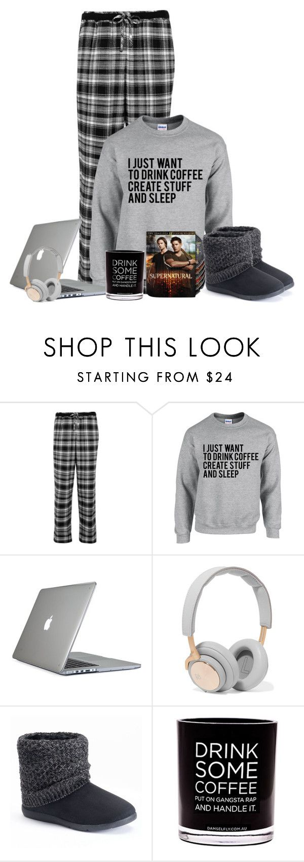 """""""Lazy day"""" by sherbear1974 ❤ liked on Polyvore featuring DKNY, Speck, B&O Play, SONOMA Goods for Life and Damselfly Candles"""