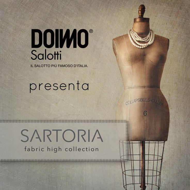 Doimo Salotti - Collezione Sartoria. http://www.doimosalotti.it/ Scarica il catalogo completo.