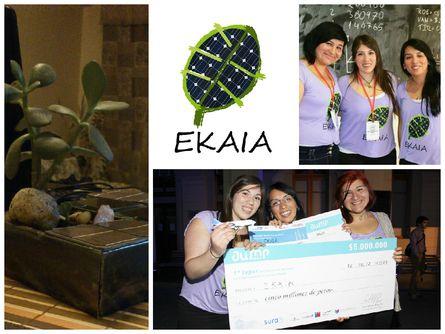 E-Kaia es un proyecto dedicado a desarrollar tecnologías que solucionen problemáticas energéticas, de forma innovadora y a la par de las nuevas tecnologías.