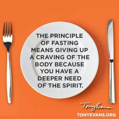 a closer look at the four types of fasting in the Bible